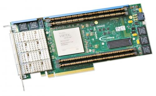 BittWare XUSP3R is a standard-height PCIe card with Virtex UltraScale125/160/190 and 16x/32x GTH at 32.75/16 Gbps.