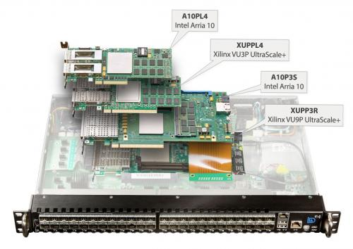 BittWare e4 FPGA Chassis works with any current BittWare PCIe boards such as A10PL4, XUPPL4, A10P3S, XUPP3R.