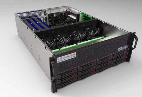 IW4203-4G Bare Bones GPU Server with XeonE5-2600 V3 x2 or E5-2600 V4 x2 inside and Intel C612 Chipset.