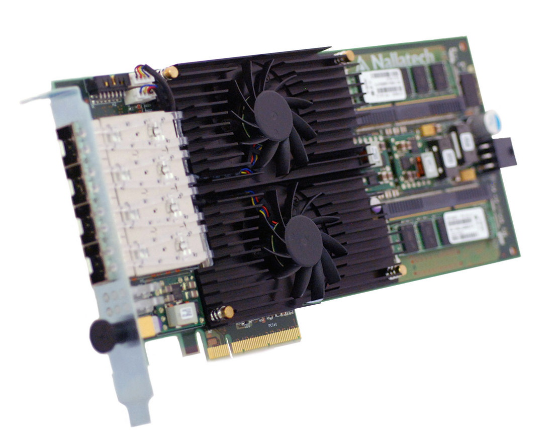 Nallatech 287 Dual Xilinx Kintex 7 325t 4 Sfp Ports 6x Qdr Ii Block Diagram Pcie Fpga Network Processing Card Supporting Quad